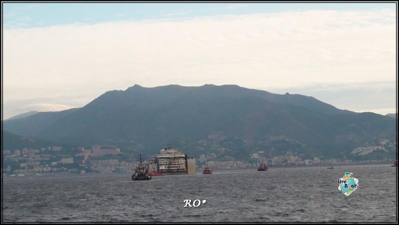 Liveboat in Diretta dall'Isola del Giglio e arrivo a Genova-53foto-costaconcordia-genova-arrivo-jpg