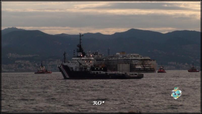 Liveboat in Diretta dall'Isola del Giglio e arrivo a Genova-56foto-costaconcordia-genova-arrivo-jpg
