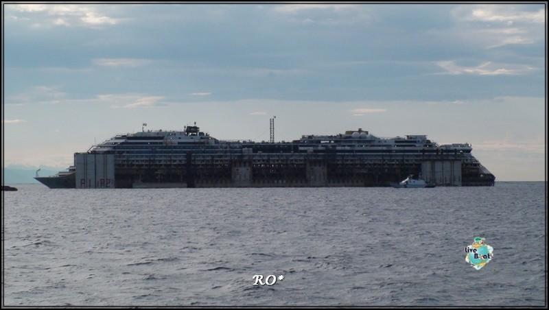 Liveboat in Diretta dall'Isola del Giglio e arrivo a Genova-58foto-costaconcordia-genova-arrivo-jpg