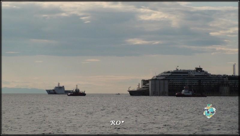 Liveboat in Diretta dall'Isola del Giglio e arrivo a Genova-64foto-costaconcordia-genova-arrivo-jpg
