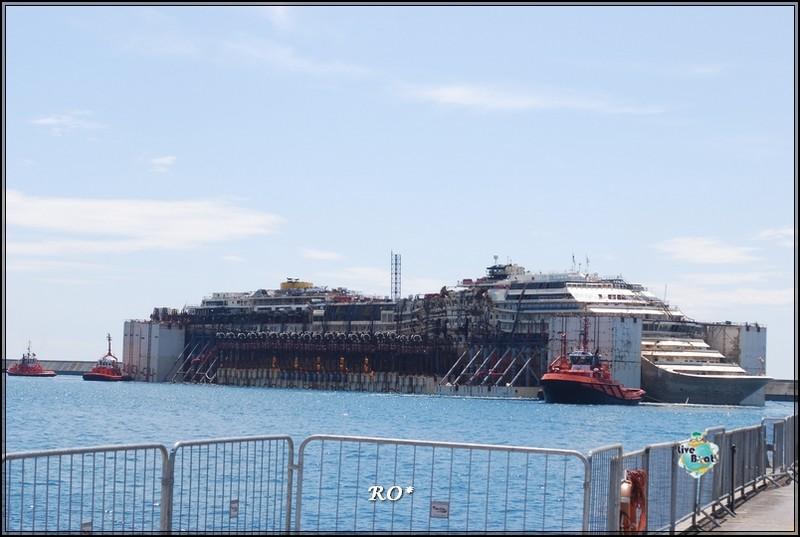 Liveboat in Diretta dall'Isola del Giglio e arrivo a Genova-18foto-costaconcordia-genova-arrivo-jpg