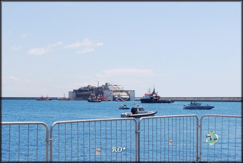 Liveboat in Diretta dall'Isola del Giglio e arrivo a Genova-21foto-costaconcordia-genova-arrivo-jpg