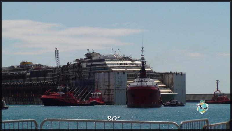 Liveboat in Diretta dall'Isola del Giglio e arrivo a Genova-94foto-costaconcordia-genova-arrivo-jpg