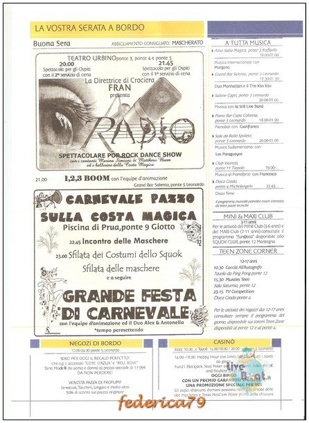 Costa Magica-Panorami d'Oriente-06/16-07-2014-today-3-jpg