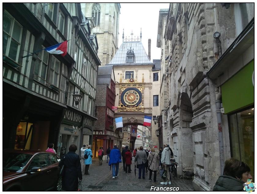 2014/05/25- Southampton -Independence OTS Francia e Spagna-1rouen-rue-du_gros-horloge-jpg
