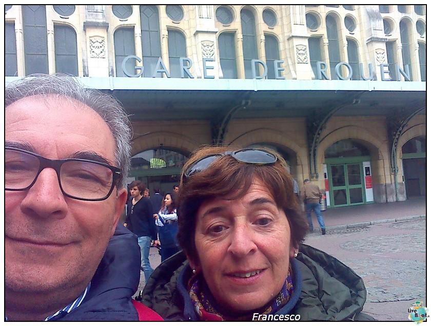 2014/05/25- Southampton -Independence OTS Francia e Spagna-piazzale-stazione-rouen-jpg