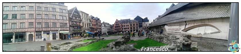 2014/05/25- Southampton -Independence OTS Francia e Spagna-rouen-panoramica-place-du-vieux-marche-jpg