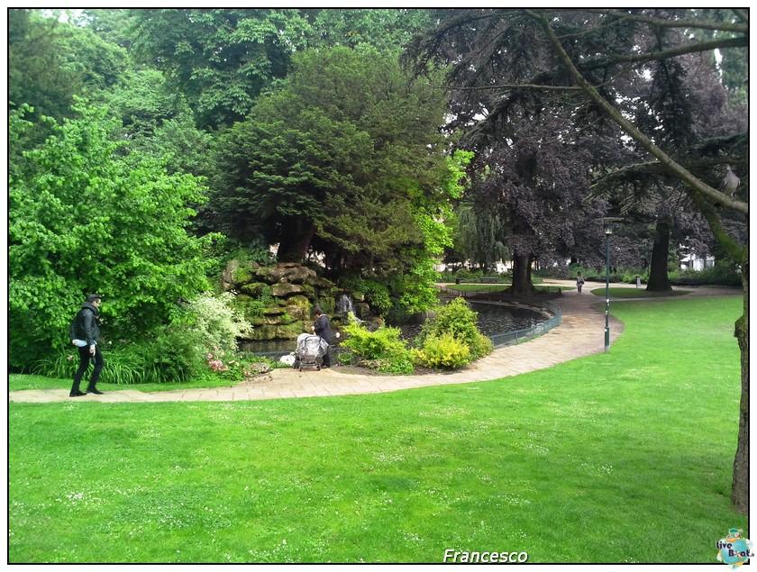 2014/05/25- Southampton -Independence OTS Francia e Spagna-parco-jpg