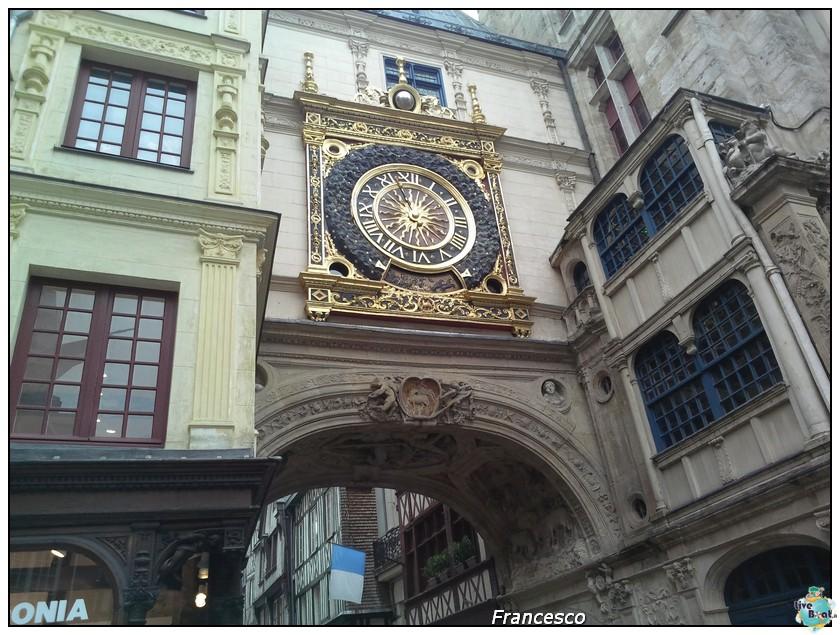 2014/05/25- Southampton -Independence OTS Francia e Spagna-rouen-gros-horloge-jpg