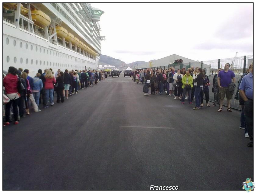 2014/05/25- Southampton -Independence OTS Francia e Spagna-2-bilbao-coda-rientro-nave-dopo-escursioone-jpg