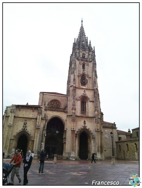 2014/05/25- Southampton -Independence OTS Francia e Spagna-oviedo-cattedrale-jpg