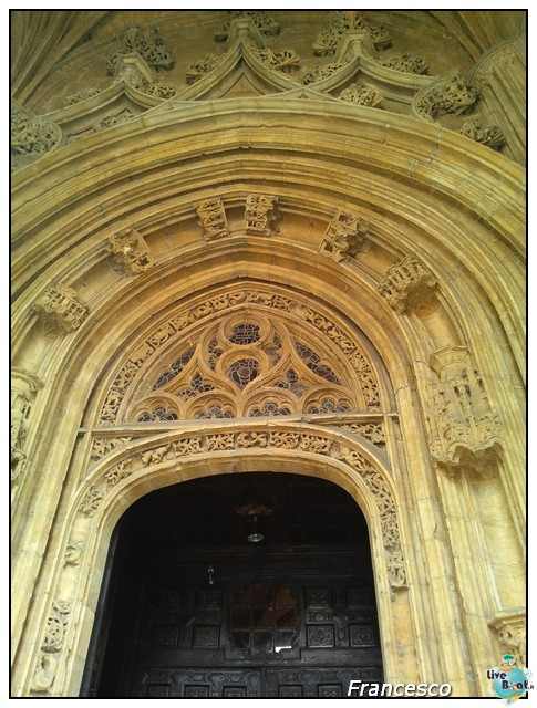 2014/05/25- Southampton -Independence OTS Francia e Spagna-oviedo-portale-cattedrale-particolare-jpg