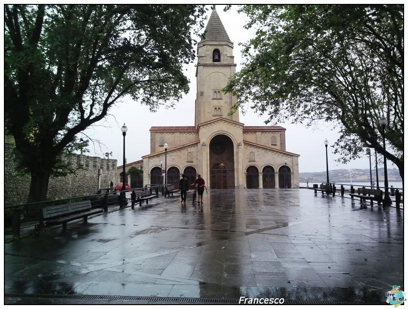 2014/05/25- Southampton -Independence OTS Francia e Spagna-gijon-chiesa-san-pietro-jpg