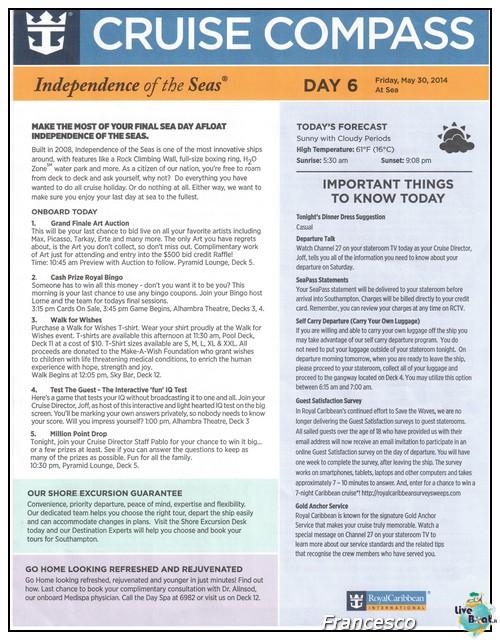 2014/05/25- Southampton -Independence OTS Francia e Spagna-southampton-jpg