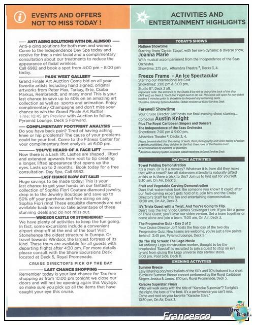 2014/05/25- Southampton -Independence OTS Francia e Spagna-southampton1-jpg
