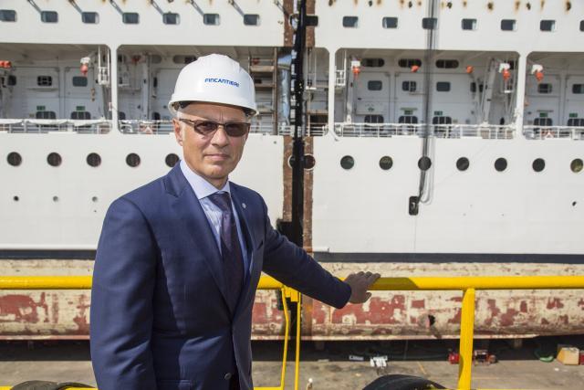 Show a Palermo: Fincantieri allunga una nave da crociera MSC-emilio-scala-general-manager-dip-tecnico-msc-jpg
