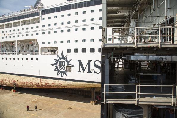 Show a Palermo: Fincantieri allunga una nave da crociera MSC-msc-armonia-blocco-aggiuntivo-inserire3-jpg