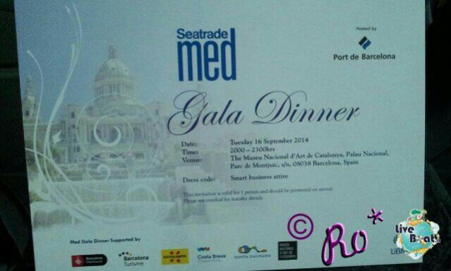 Seatrade Med 2014 a Barcellona Liveboat presente all'evento.-uploadfromtaptalk1410891707641-jpg