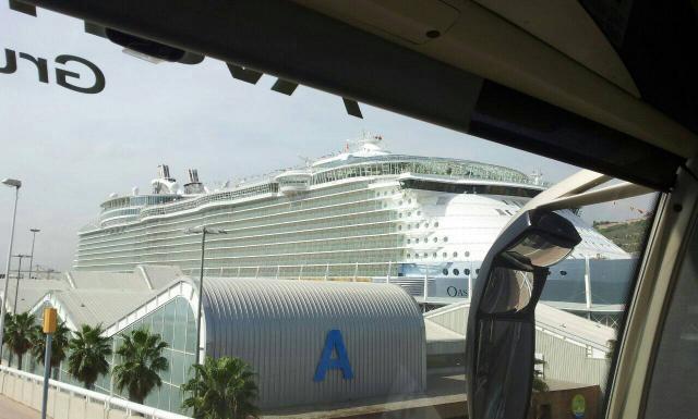 2014/09/18 Visita nave Oasis of the seas a Barcellona-uploadfromtaptalk1411035546793-jpg