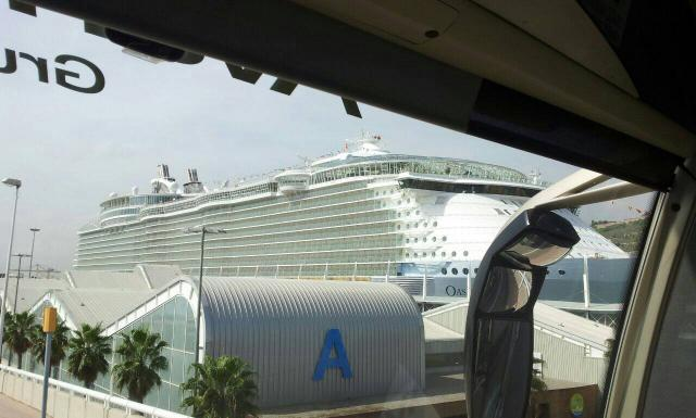 2014/09/18 Visita nave Oasis of the seas a Barcellona-uploadfromtaptalk1411035546793-jpg