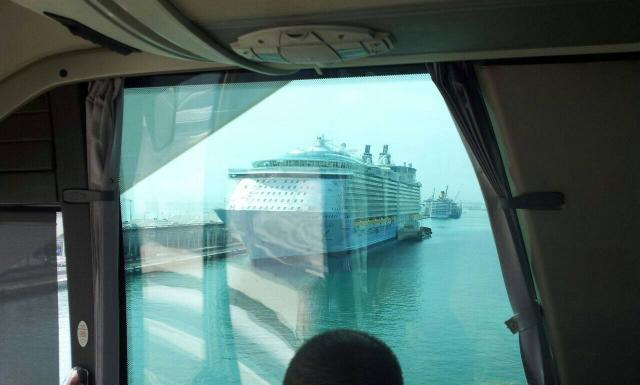 2014/09/18 Visita nave Oasis of the seas a Barcellona-uploadfromtaptalk1411035561468-jpg