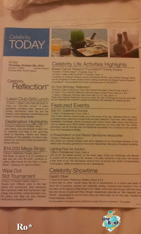 2014/10/09 Navigazione Celebrity Reflection-3-foto-celebrity-reflection-navigazione-diretta-liveboat-crociere-jpg