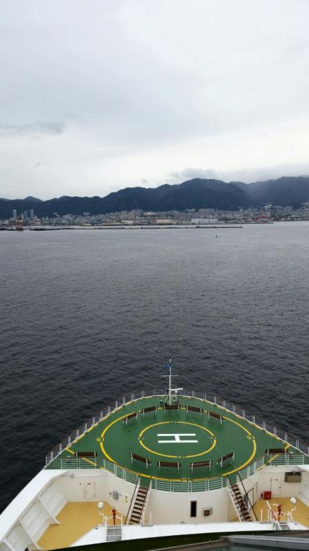 2014/10/22 Kobe Giappone Celebrity Millennium-arrivo-kobe-celebrity-millennium-diretta-liveboat-3-jpg