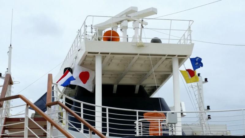 2014/10/22 Kobe Giappone Celebrity Millennium-arrivo-kobe-celebrity-millennium-diretta-liveboat-5-jpg