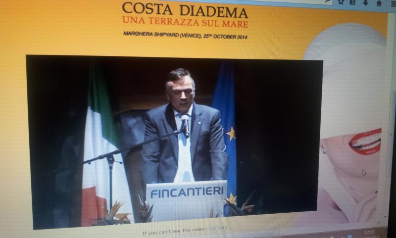 25.10.14 - Evento presentazione Costa Diadema a Fincantieri di Marghera-uploadfromtaptalk1414232541799-jpg