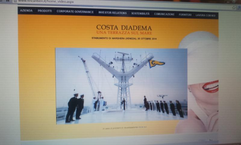 25.10.14 - Evento presentazione Costa Diadema a Fincantieri di Marghera-uploadfromtaptalk1414233891858-jpg