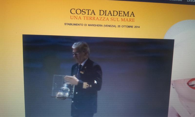 25.10.14 - Evento presentazione Costa Diadema a Fincantieri di Marghera-uploadfromtaptalk1414234139002-jpg