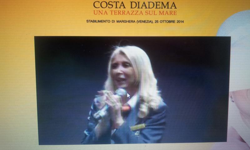 25.10.14 - Evento presentazione Costa Diadema a Fincantieri di Marghera-uploadfromtaptalk1414234277134-jpg
