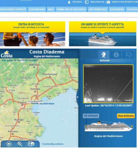 2014/10/31 Arrivo a Trieste e imbarco Costa Diadema-uploadfromtaptalk1414676057456-jpg