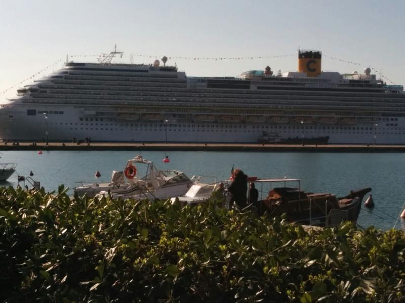 2014/10/31 Arrivo a Trieste e imbarco Costa Diadema-uploadfromtaptalk1414757469242-jpg