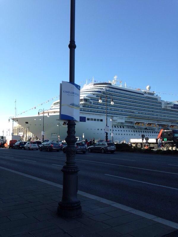 2014/10/31 Arrivo a Trieste e imbarco Costa Diadema-uploadfromtaptalk1414757489447-jpg