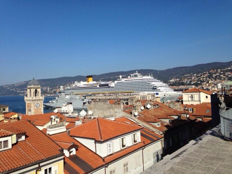 2014/10/31 Arrivo a Trieste e imbarco Costa Diadema-uploadfromtaptalk1414757517028-jpg