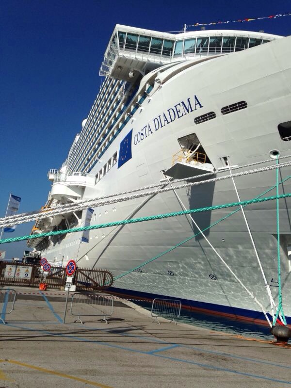 2014/10/31 Arrivo a Trieste e imbarco Costa Diadema-uploadfromtaptalk1414757545485-jpg