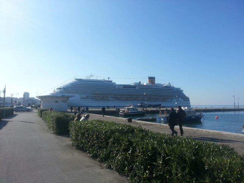 2014/10/31 Arrivo a Trieste e imbarco Costa Diadema-uploadfromtaptalk1414758835693-jpg