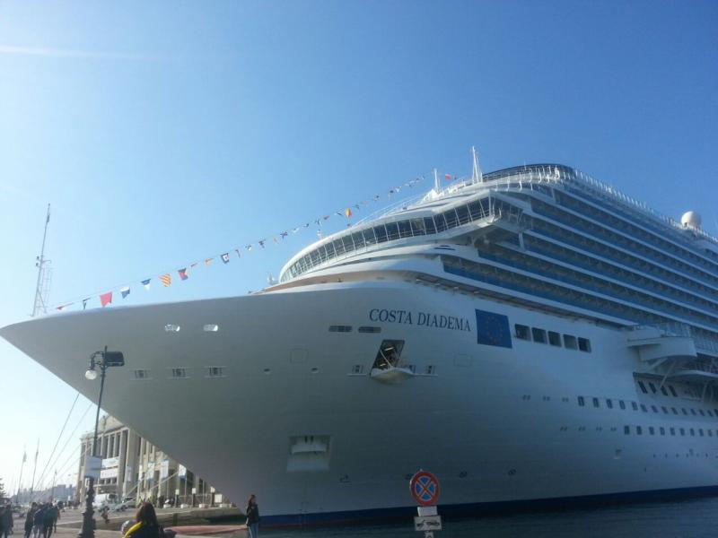 2014/10/31 Arrivo a Trieste e imbarco Costa Diadema-uploadfromtaptalk1414758874564-jpg