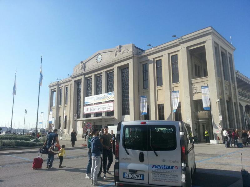 2014/10/31 Arrivo a Trieste e imbarco Costa Diadema-uploadfromtaptalk1414758895097-jpg