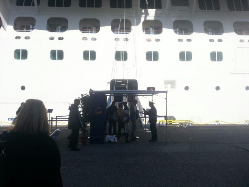 2014/10/31 Arrivo a Trieste e imbarco Costa Diadema-uploadfromtaptalk1414759275717-jpg