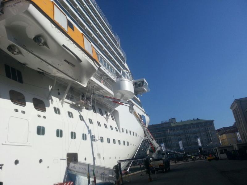 2014/10/31 Arrivo a Trieste e imbarco Costa Diadema-uploadfromtaptalk1414759301056-jpg