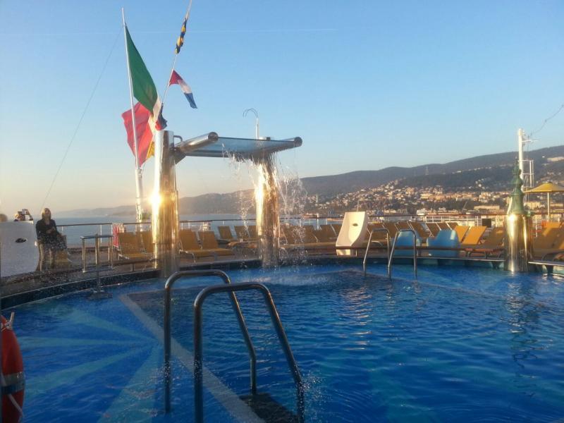 2014/10/31 Arrivo a Trieste e imbarco Costa Diadema-uploadfromtaptalk1414769006372-jpg