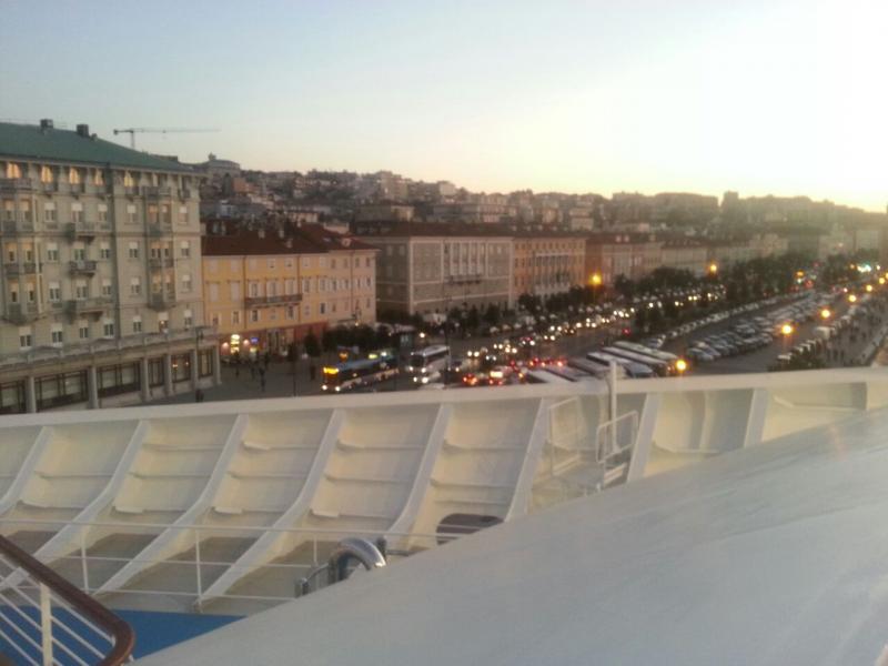 2014/10/31 Arrivo a Trieste e imbarco Costa Diadema-uploadfromtaptalk1414772034814-jpg