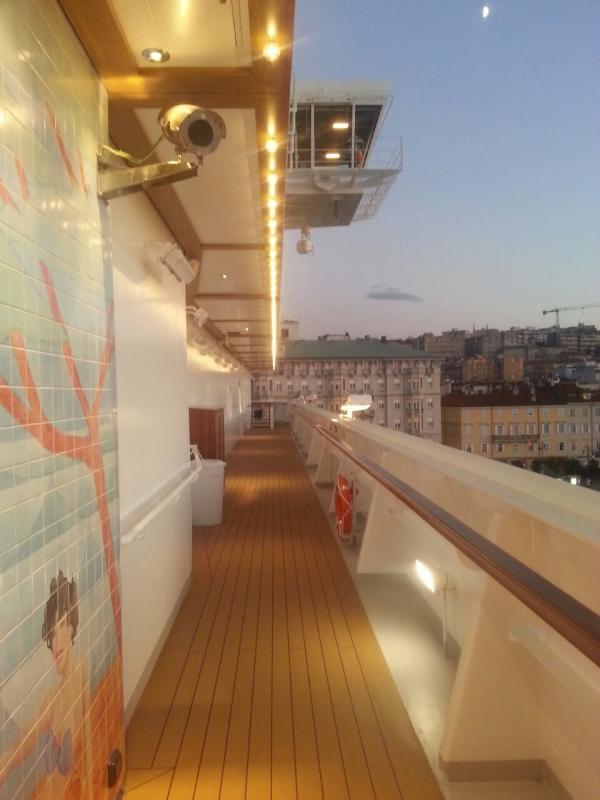2014/10/31 Arrivo a Trieste e imbarco Costa Diadema-uploadfromtaptalk1414772075305-jpg