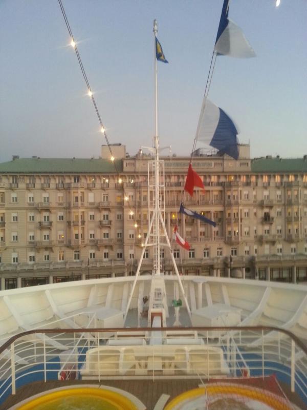 2014/10/31 Arrivo a Trieste e imbarco Costa Diadema-uploadfromtaptalk1414772546584-jpg