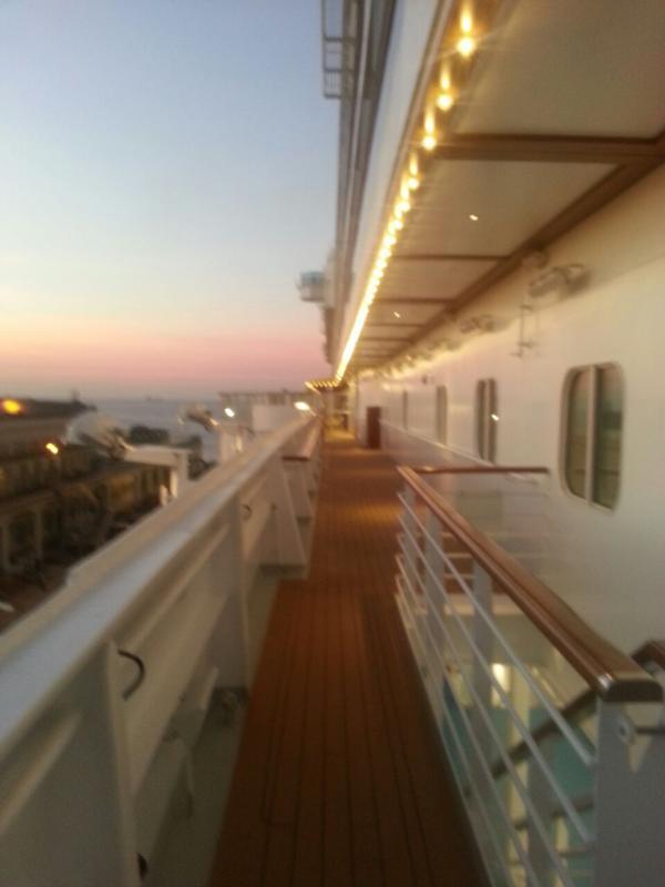 2014/10/31 Arrivo a Trieste e imbarco Costa Diadema-uploadfromtaptalk1414772557139-jpg