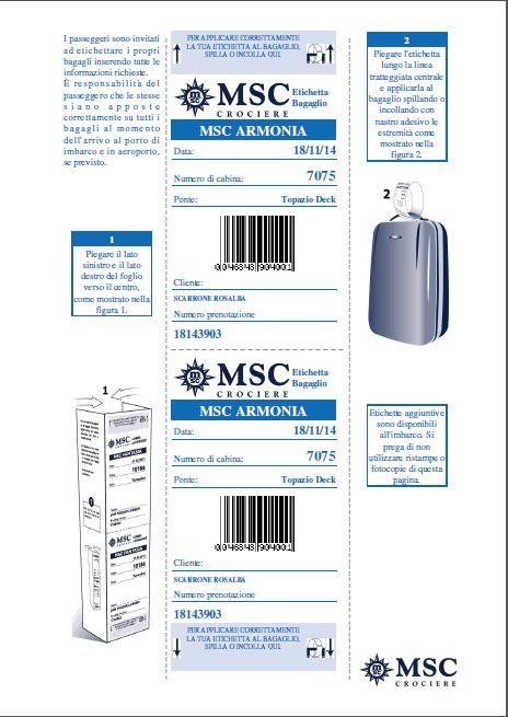 Evento di presentazione MSC Armonia 18 novembre 2014-etichette-msc-armonia-jpg