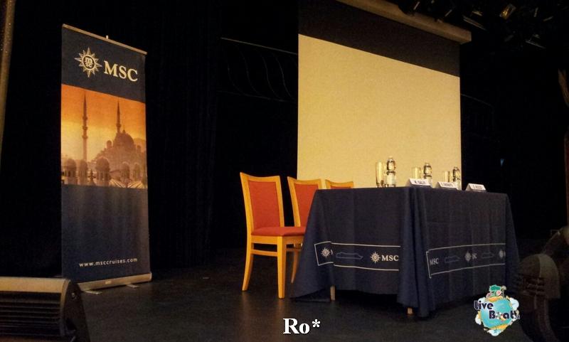Evento di presentazione MSC Armonia 18 novembre 2014-8-foto-msc-armonia-evento-presentazione-diretta-liveboat-crociere-jpg
