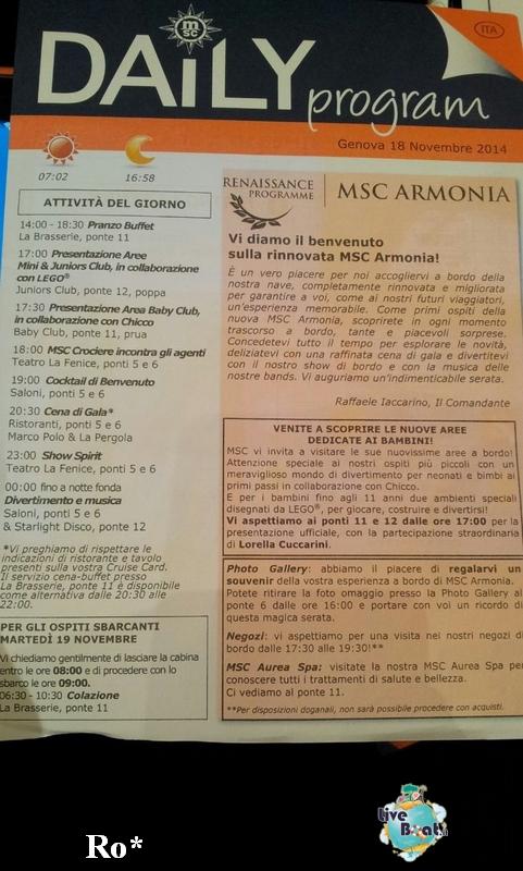 Evento di presentazione MSC Armonia 18 novembre 2014-1-foto-msc-armonia-evento-presentazione-diretta-liveboat-crociere-jpg